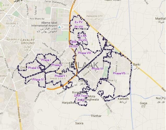 Plot Price DHA Phase 8 Lahore