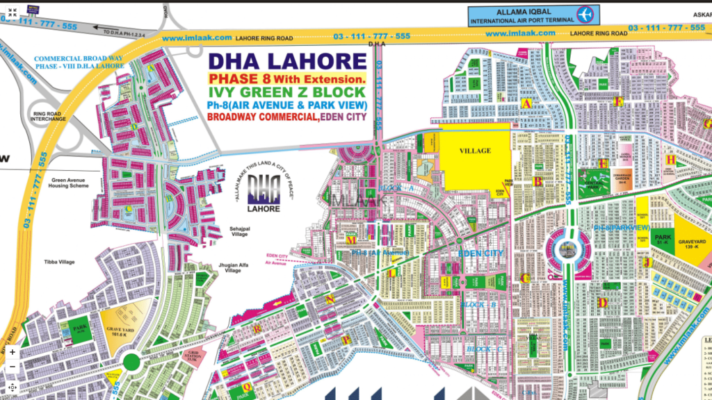 dha phase 8 commercial broadway