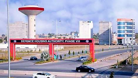 DHA Phase 8 plots